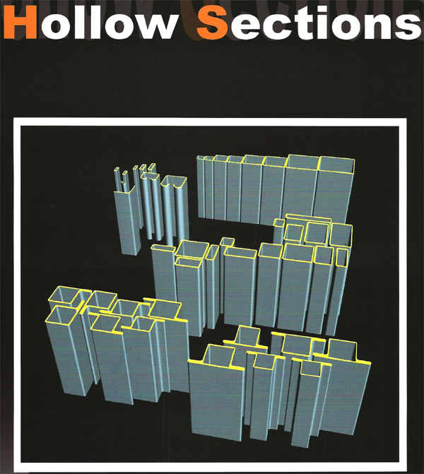 Industrial pipes gt hollow sections specification
